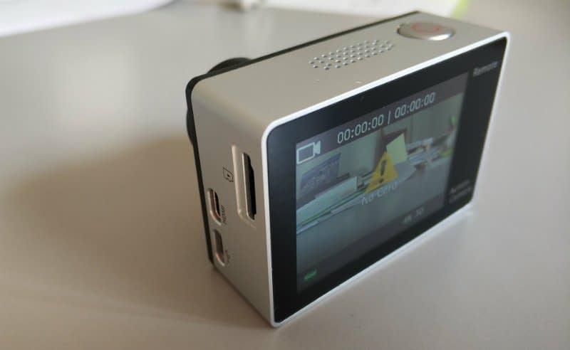 recensione-Eken-H6s-sinistro Recensione Eken H6s action cam 4k economica con stabilizzatore e telecomando
